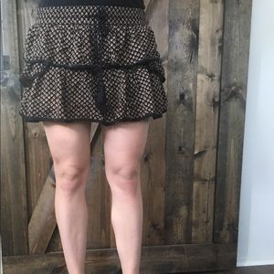 Skirt with shorts underneath